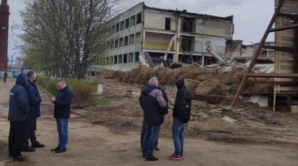 """В Орше решили взорвать заброшенное здание завода """"Легмаш"""""""