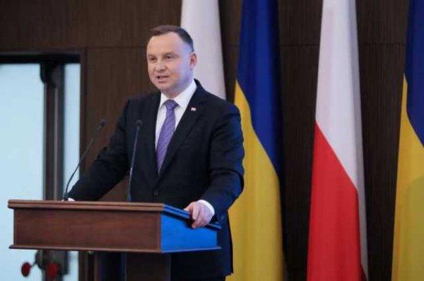 Президент Польши во время саммита НАТО заявил о готовности защищать независимость Беларуси