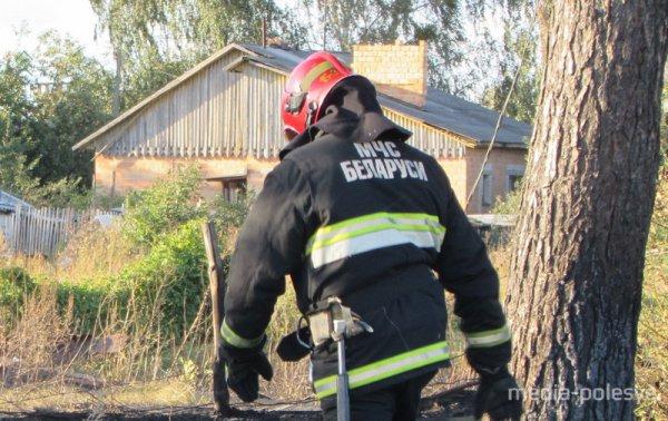 В Пинске на пожаре погиб 73-летний пенсионер