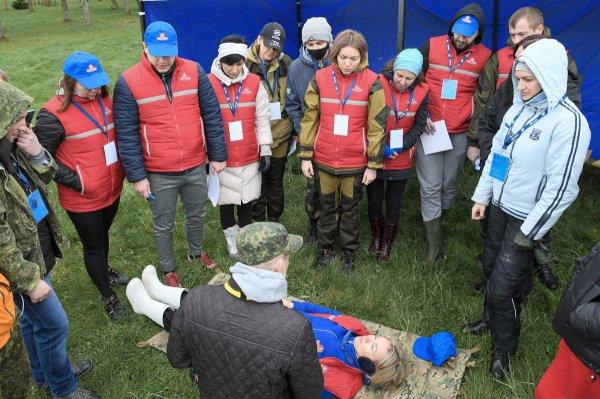 В Беларуси прошли масштабные поисковые учения  спасателей отряда «Ангел»