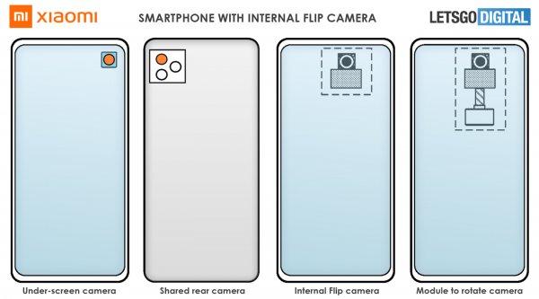В  компании Xiaomi придумали цилиндрический смартфон