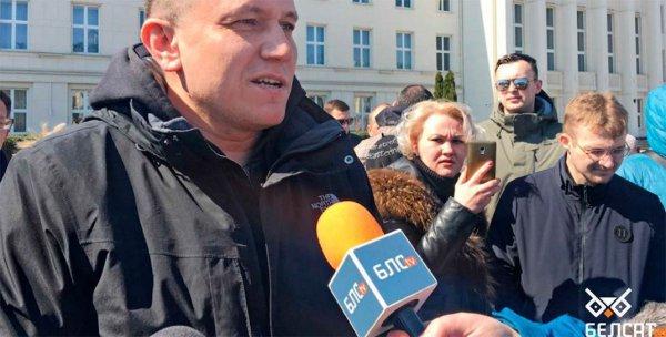 Против лидера протестов против АКБ в Бресте возбуждено уголовное дело