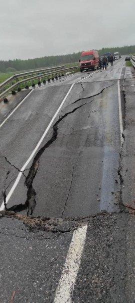 На автодороге Борисов — Березино обрушился мост