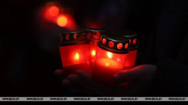 Панихида по погибшим летчикам пройдет сегодня в Барановичах
