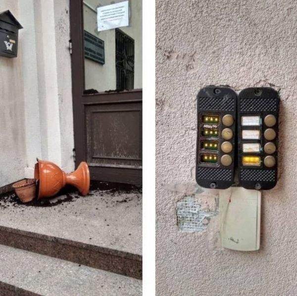 В Минске совершено нападение на  здание костела в центре города