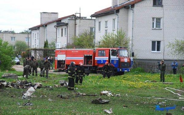 Стала известна официальная версия катастрофы в Барановичах