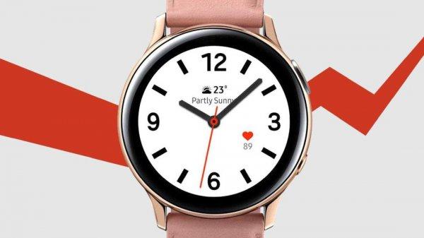 В сети появились характеристики Samsung Galaxy Watch Active 4