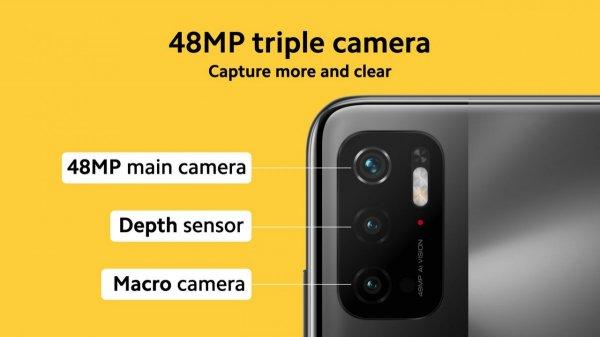 Poco показала новый смартфон M3 Pro 5G с Dimensity 700 и 90-герцовым экраном