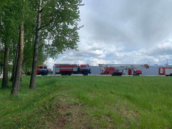 В Минске совершил аварийную посадку самолёт летевший из Афин в Вильнюс. Пилоты подали сигнал о минировани