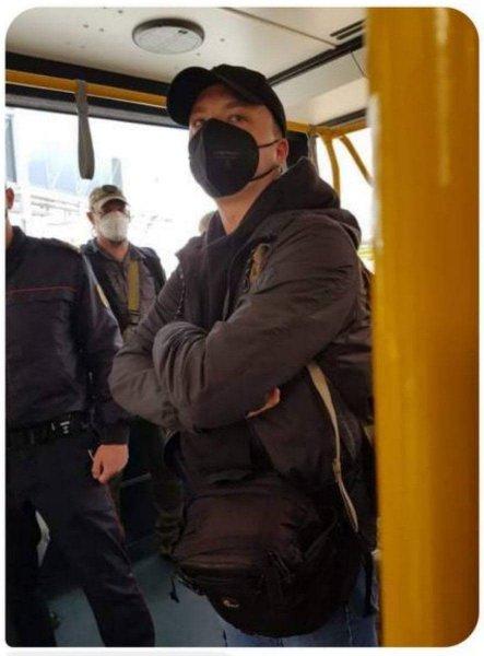 Роман Протасевич, который летел на «заминированном» самолёте арестован