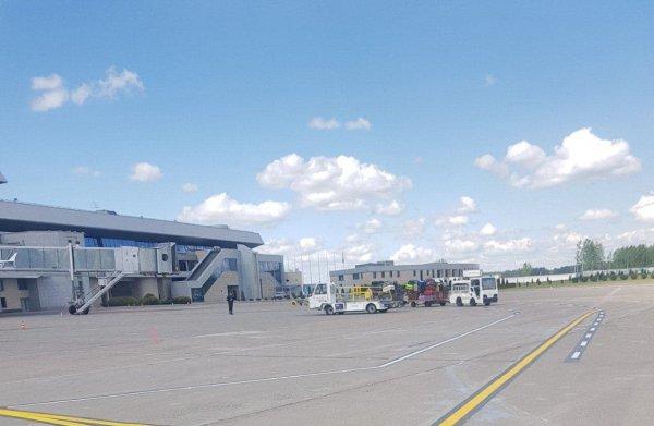 В Минске вместе с пассажирами задержан самолёт немецкой компании Lufthansa