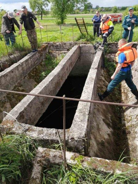 В Слуцком районе в очистном колодце утонул мужчина