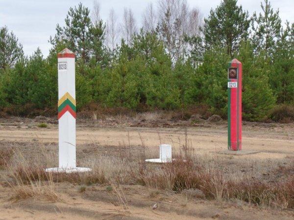 Литва усиливает контроль на границе с Беларусью