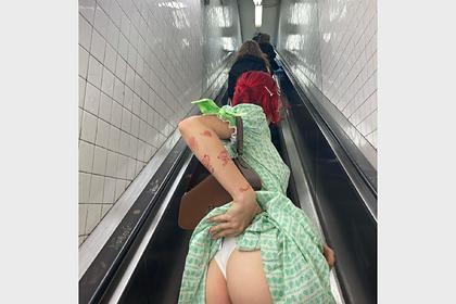 Дочь Урганта снялась в белье в метро и разозлила своих подписчиков