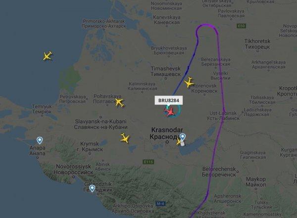 Самолёт Белавиа Хургада — Минск совершил экстренную посадку в Краснодаре