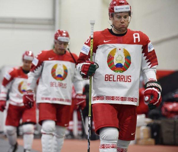 Сборная Беларуси по хоккею заняла последнее место в группе А