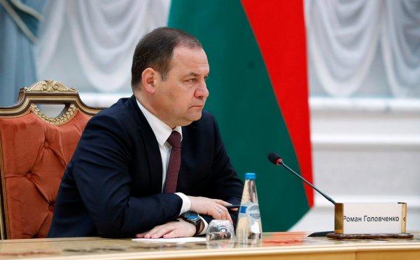 Головченко заявил, что Беларусь отказывается от импортных товаров и западных технологий