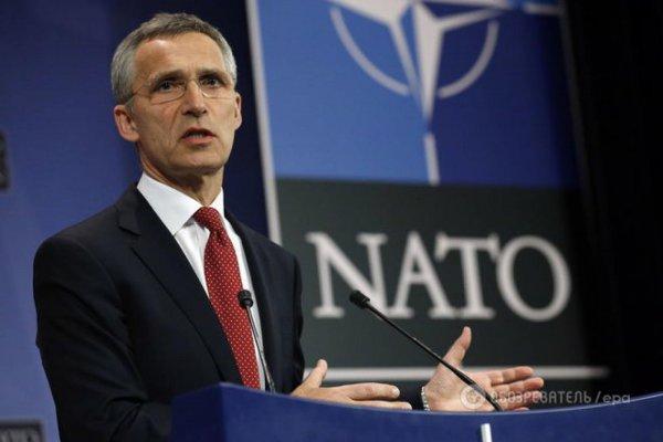 Генсек НАТО Столтенберг высказался о ситуации в Беларуси
