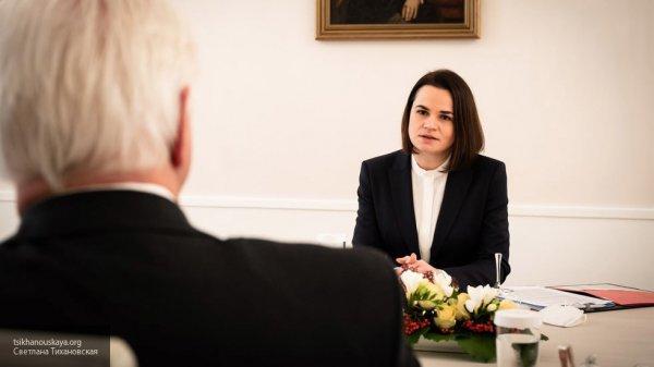 Светлана Тихановская провела переговоры с правительством Германии