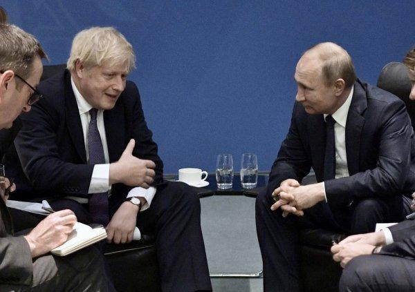 Песков анонсировал встречу Джонсона с Путиным