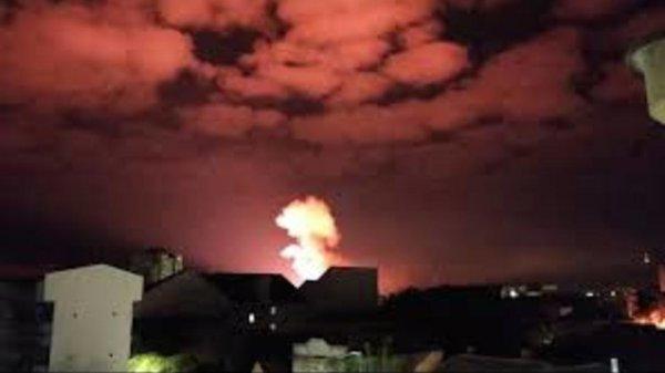 Три человека пострадало от серии взрывов на складе боеприпасов в Сербии