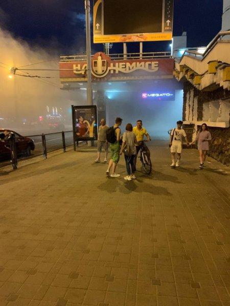 ГАИ прокомментировала вчерашнее ДТП с мотоциклом на Немиге