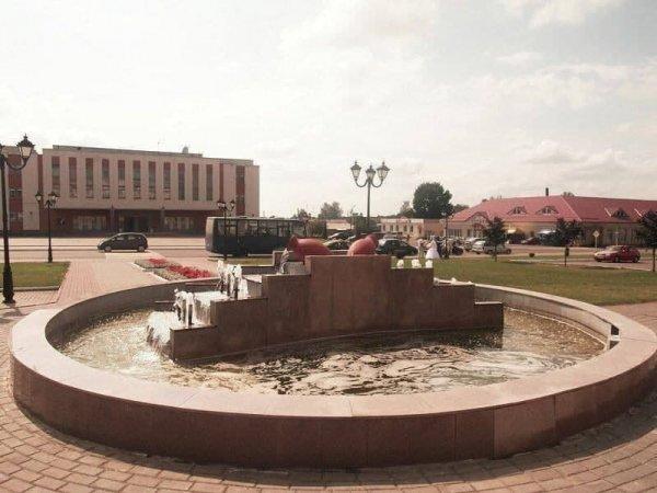 В Докшицах в фонтане напротив райисполкома током убило девушку