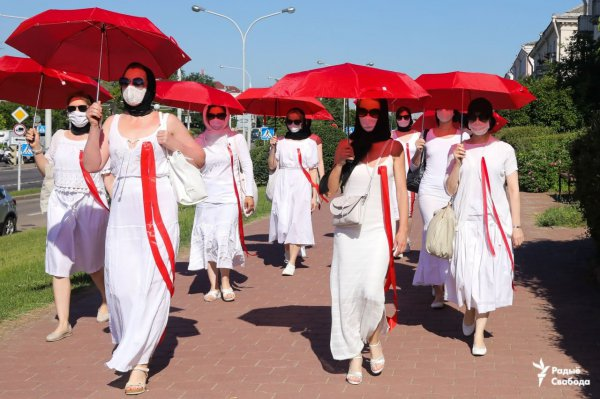 В Минске прошла женская акция солидарности