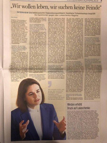 Фотофакт: избранный лидер Беларуси на первых страницах мировых СМИ