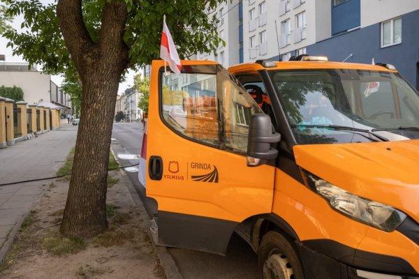 Мэрия Вильнюса потроллила белорусское посольство в Литве
