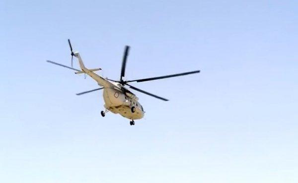 В Ленинградской области упал военный вертолет, есть погибшие