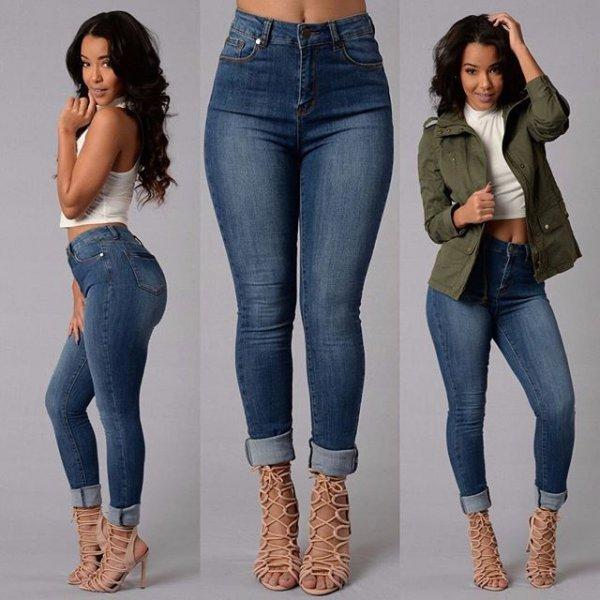 Модные женские джинсы - основные критерии выбора