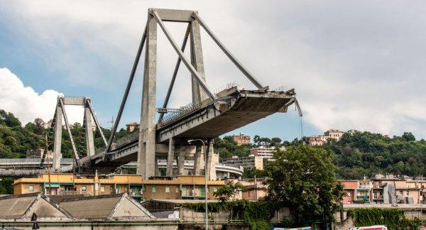 За обрушение моста в Генуе будут судить 59 человек
