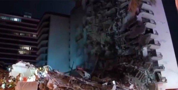 Из-под обломков разрушенной многоэтажки в Майами вытащили чудом уцелевшего подростка