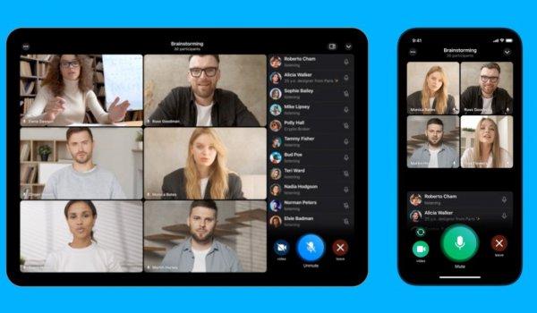 Мессенджер Telegram запускает групповые видеозвонки