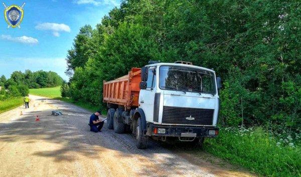 В Ошмянском районе грузовик насмерть сбил велосипедиста
