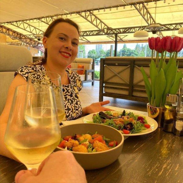 Анна Канопацкая сожалеет, что не сможет есть премиальные морепродукты