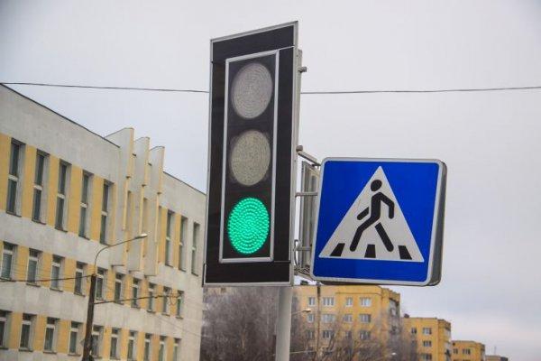 В Минске из-за непогоды  перестали работать некоторые светофоры
