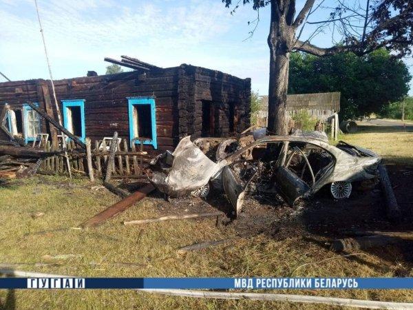 Ночью 26 июня в Калинковичском районе в аварии погибли два человека