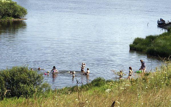 В Рогачёве детям запретили купаться в необорудованных местах и без сопровождения взрослых