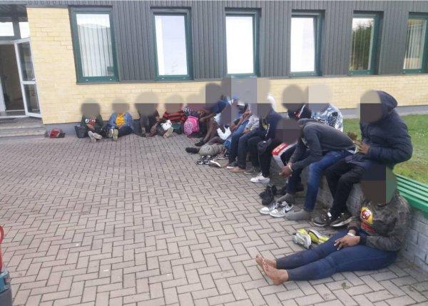 За последние сутки литовские пограничники задержали 116 нелегальных мигрантов из Беларуси