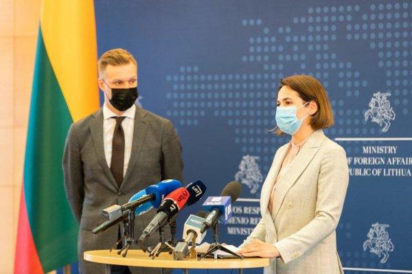 Офис Светланы Тихановской получил дипломатический статус в Европе