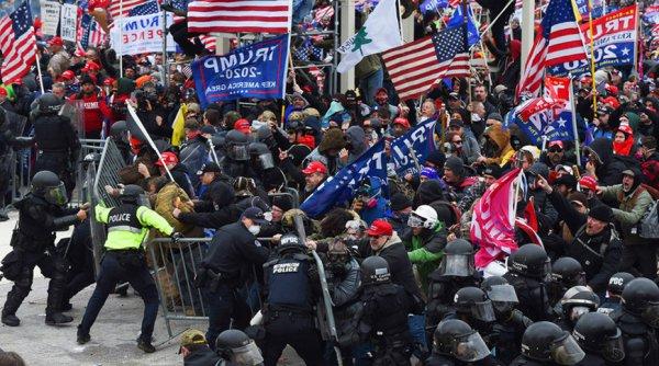 По делу о штурме Капитолия в США обвинения выдвинуты против 530 человек