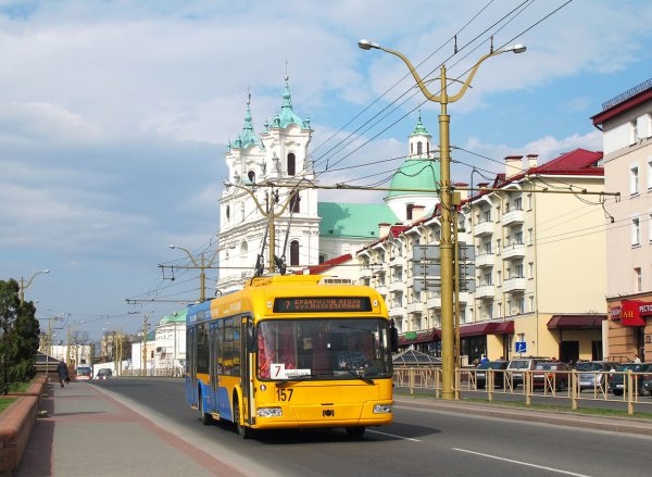 16 июля проезд в общественном транспорте Гродно будет бесплатным