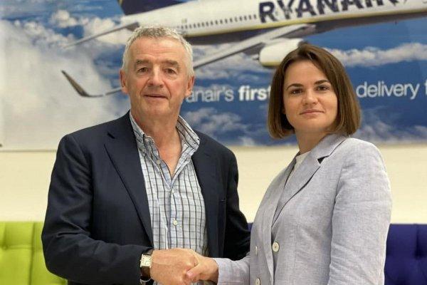 Глава Ryanair передал Тихановской отчет о результатах расследования инцидента с самолётом
