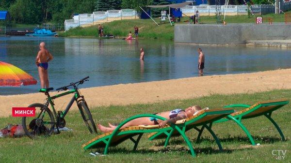 Жаркая погода  в Беларуси сохранится как минимум до 18 июля
