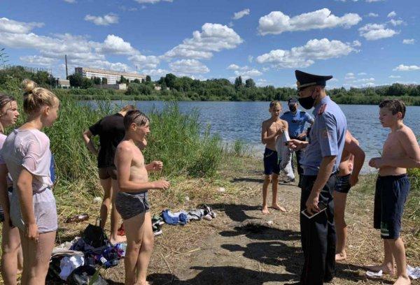 Рогачёвский РОВД проводит усиленные рейды по водоёмам, нарушителей штрафуют