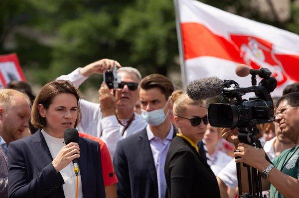 Сегодня Светлана Тихановская встретится с госсекретарём США