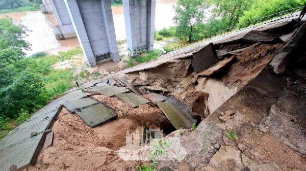 Проблемный мост в Гродно обещают восстановить к августу