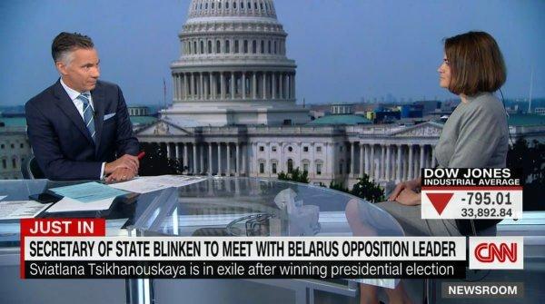 Светлана Тихановская рассказала о первых итогах переговоров в США